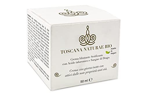TOSCANA NATURAE BIO Crema Viso Decolleté Antirughe Idratante Levigante Setificante Acido Ialuronico...