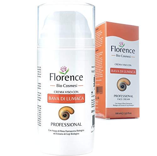 100ml. Bio Crema con Bava di Lumaca al 61% e Acido Ialuronico PURO 100%+Vitamina C/E. Con...