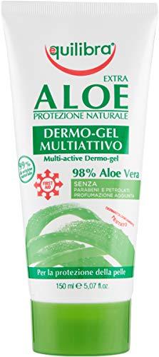 Equilibra Corpo, Aloe Dermo-Gel, Gel Lenitivo a Base di Aloe Vera, Svolge un'Azione Protettiva,...