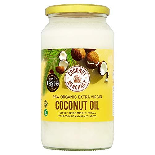 Coconut Merchant Olio di Cocco Organico 1L | Olio Extra Vergine, Crudo, Spremuto a Freddo, Non...