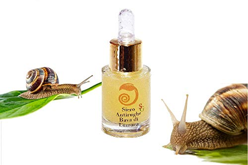 Snail Green Siero Bava di Lumaca 70%, Elicina, viso, collo, per smagliature, cicatrici,...