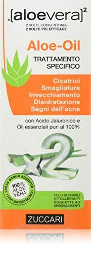[aloevera]2 Zuccari Aloe-Oil, Aloe Vera, 50 Millilitri