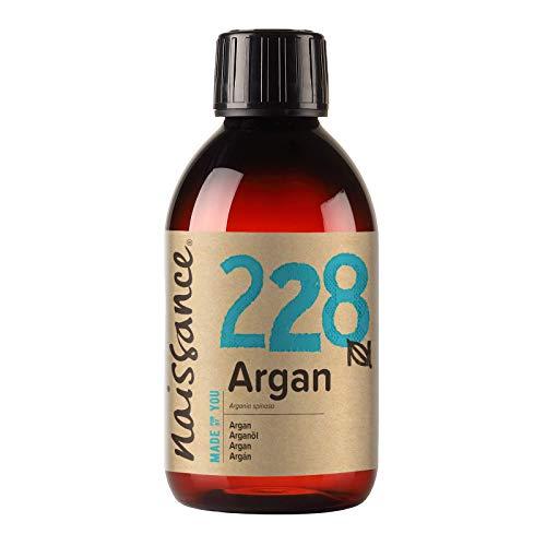 Naissance Olio di Argan del Marocco 250ml - Puro e Naturale, Antiossidante, Vegan, Senza Esano,...