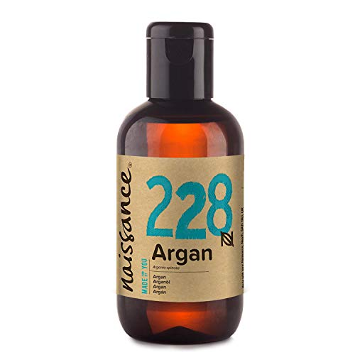 Naissance Olio di Argan del Marocco 100ml - Puro e Naturale, Anti-età, Antiossidante, Vegan, Senza...