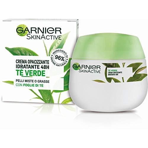 Garnier Crema Viso Idratante Opacizzante Skinactive, Ottima per Pelli Miste o Grasse, Arricchita con...