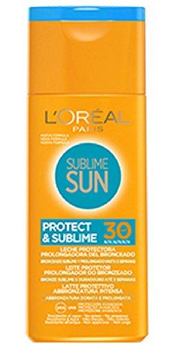 L'Oréal Paris Protezione Solare Sublime Sun Protect & Sublime, Protezione Solare Media IP30, Latte...