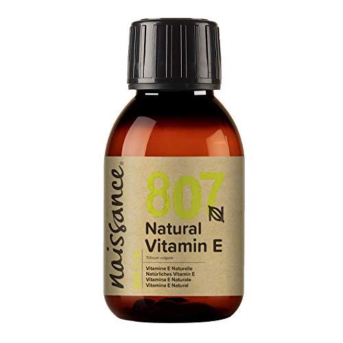 Naissance Olio di Vitamina E Naturale 100ml - Naturale, Vegano, Cruelty Free - Idratante e...