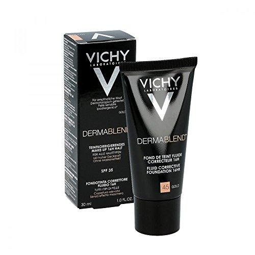 Vichy, fondotinta Dermablend, numero 45, confezione da30ml