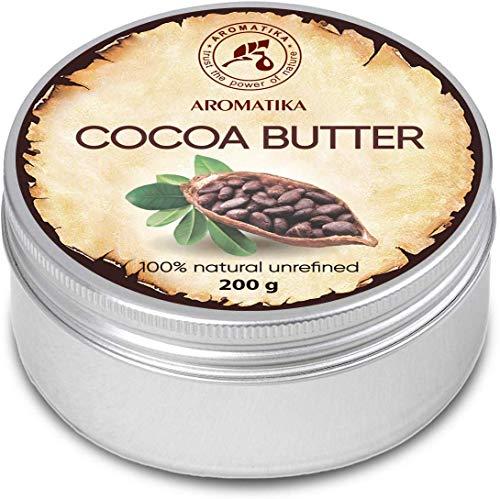Burro di Cacao 200g - Theobroma Cacao (Cocoa) Seed Butter - Burkina Faso - Burro di Cacao non...