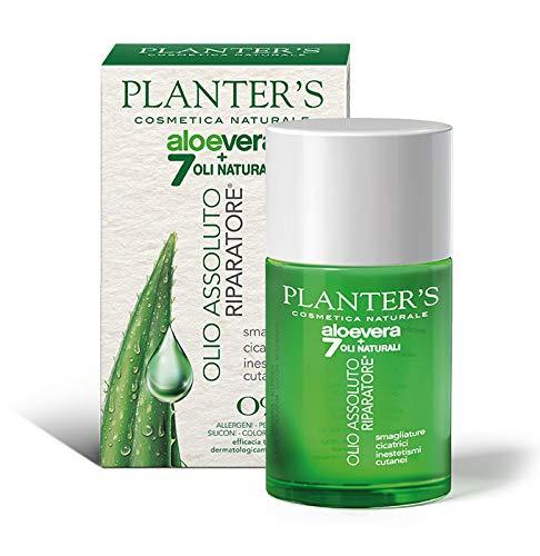 Planter's – Olio Assoluto Riparatore all'Aloe Vera + 7 Oli Naturali. Per smagliature, cicatrici,...