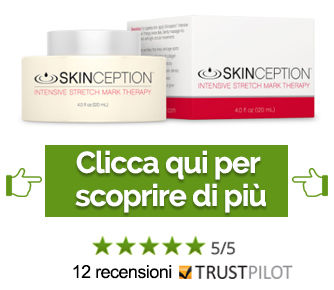 Skinception trattamento intensivo per smagliature