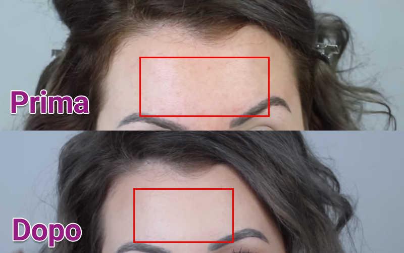 Fondotinta Dermacol usato per coprire cicatrici e smagliature